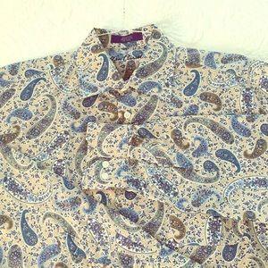 Alan Flusser Shirt Size medium